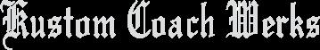 Kustom Coach Werks Logo