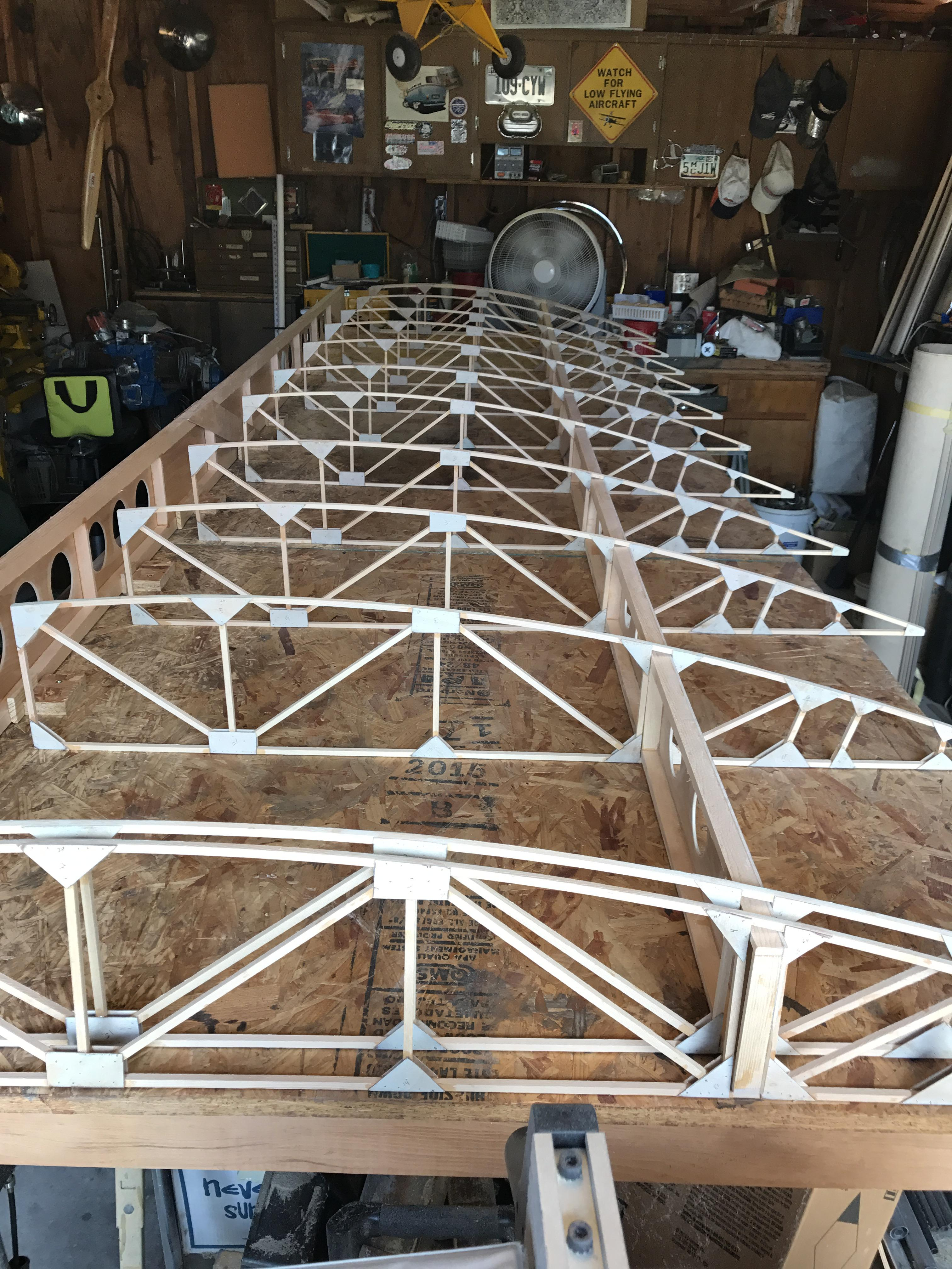 Wing setup