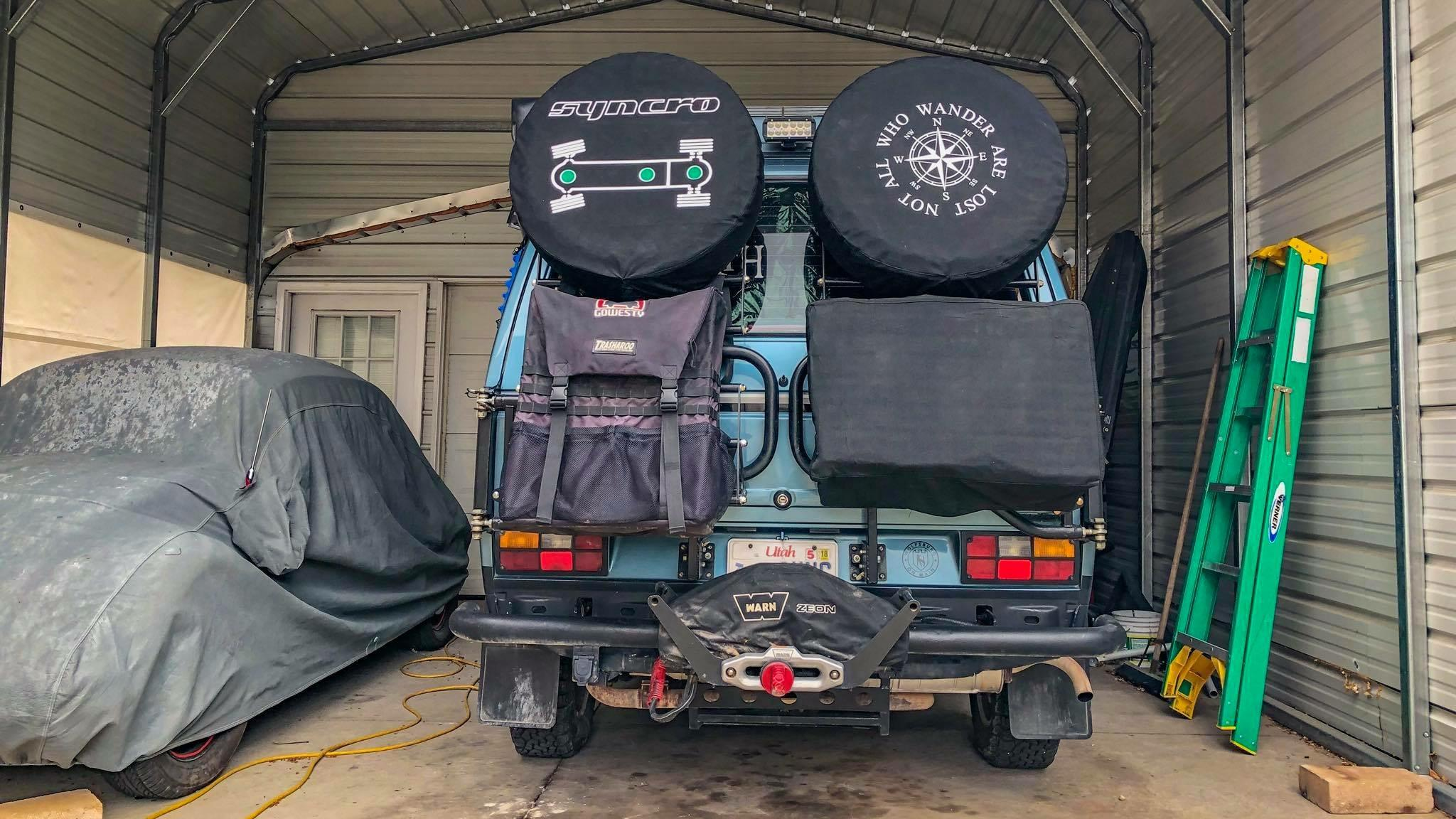 Vanagon - View topic - RMW/VC Switchback Rack System